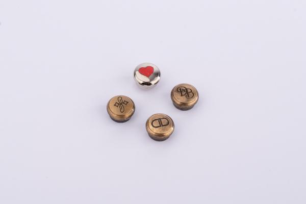 Custom Screws Brass With Caps Diameter 11 mm / 0.43 INCH