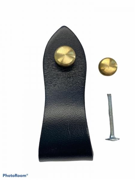 Screws Brass With Caps Diameter 11 mm / 0.43 INCH, in Light Brass Color