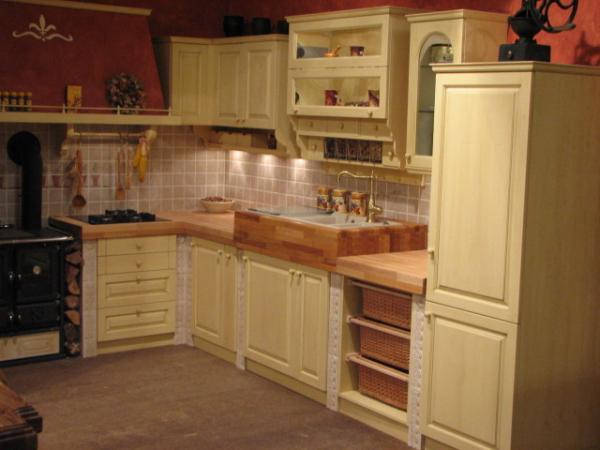 Kitchen masonry vanile
