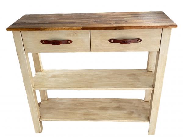 Rustika Masiva wall-mounted kitchen cabinet with cutting board